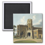 The Head Master's House, Rugby School, from 'Histo 2 Inch Square Magnet