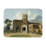 The Head Master's House, Rugby School, from 'Histo Rectangular Photo Magnet