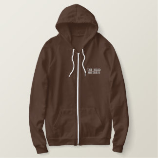 THE HEAD MISTRESS EMBROIDERED HOODIE