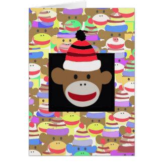 The Head Monkey. Card