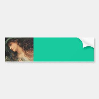 The Head Of A Nymph Bumper Sticker