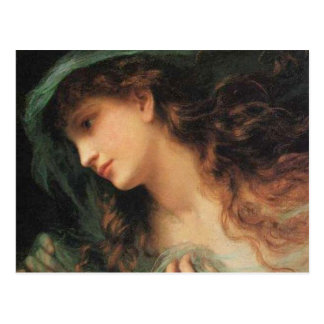 The Head Of A Nymph Postcards