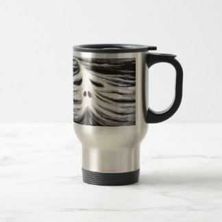 The Head of Leviathan (black and white surrealism) Mugs