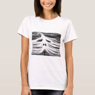The Head of Leviathan (black and white surrealism) T-Shirt
