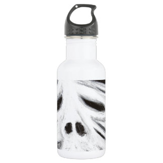 The Head of Leviathan (black and white surrealism) Water Bottle