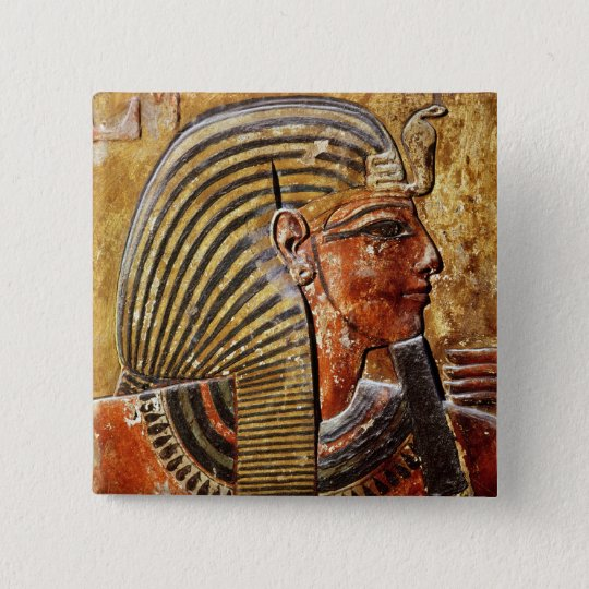 The head of Seti I  from the Tomb of Seti Button