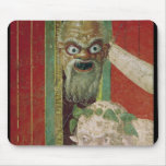 The Head of the Elderly Silenus Mouse Pad
