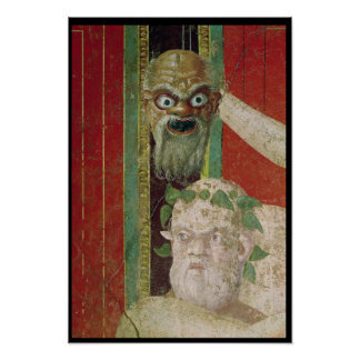 The Head of the Elderly Silenus Print
