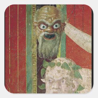 The Head of the Elderly Silenus Sticker