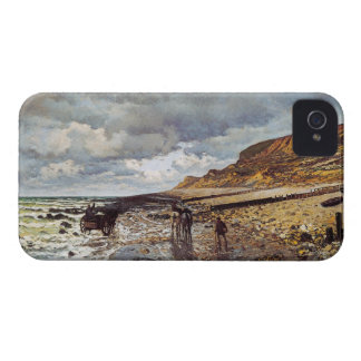 The Headland of the Heve at Low Tide Claude Monet Blackberry Bold Case