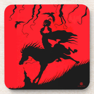 """The Headless Horseman"" Halloween Coaster Set"