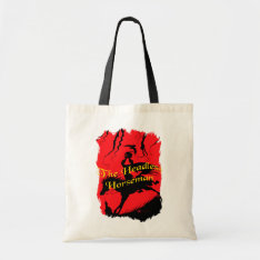 The Headless Horseman Halloween Tote at Zazzle