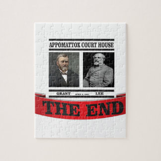 the headline end of civil war jigsaw puzzle