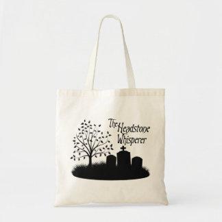 The Headstone Whisperer Bag