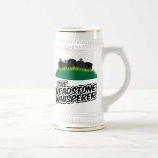 The Headstone Whisperer Beer Stein