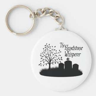 The Headstone Whisperer Keychain