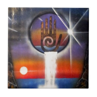 The Healing Hand of the Universe Tiles