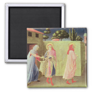 The Healing of Palladia 2 Inch Square Magnet