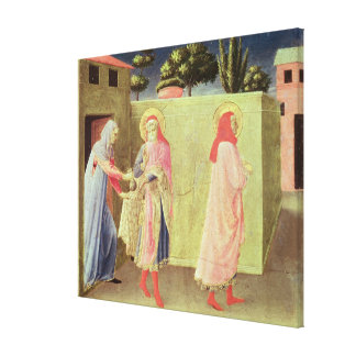 The Healing of Palladia Canvas Print