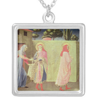 The Healing of Palladia Square Pendant Necklace