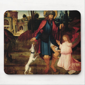 The Healing of Saint Roch Mouse Pads