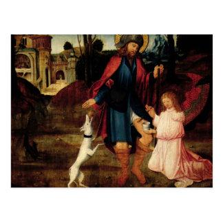 The Healing of Saint Roch Postcard