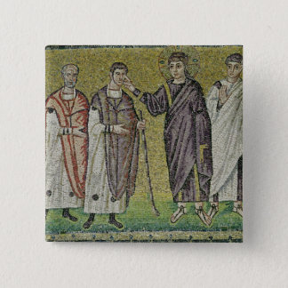 The Healing of Two Blindmen from Jericho Button