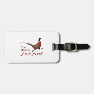 The Healthy Fast Food Travel Bag Tag