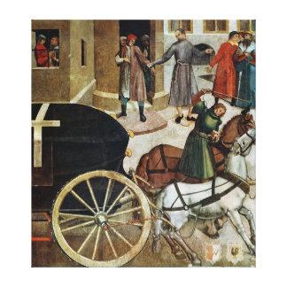 The Hearse Canvas Print