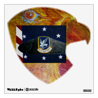 The Heart And Soul Of The Eagle. Wall Sticker