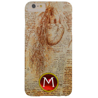 The Heart and the Bronchial Arteries Gem Monogram Barely There iPhone 6 Plus Case