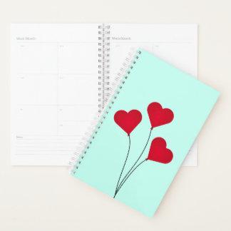 The Heart Balloons Planner