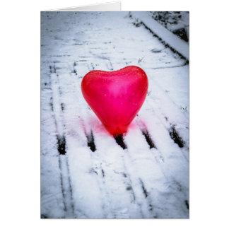 The Heart Crosses Any Bridge Card