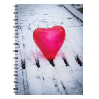 The Heart Crosses Any Bridge Notebook