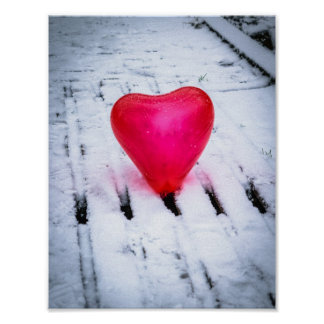 The Heart Crosses Any Bridge Poster
