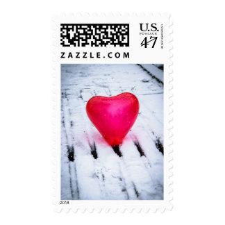 The Heart Crosses Any Bridge Stamp