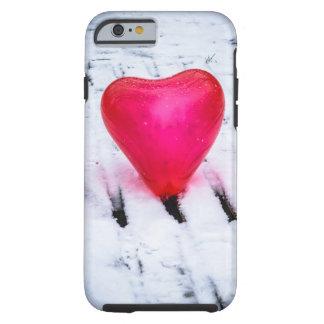 The Heart Crosses Any Bridge Tough iPhone 6 Case