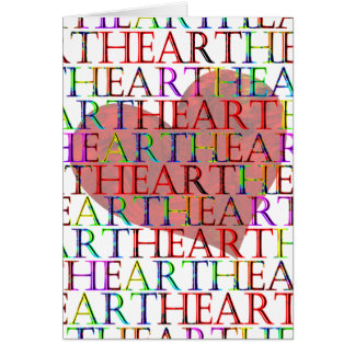 THE HEART Greeting Cards
