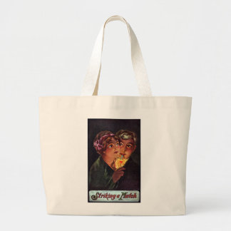 The Heart is a Match Large Tote Bag