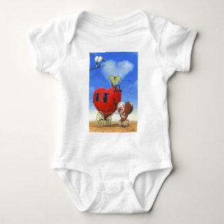 The Heart Lands Baby Bodysuit