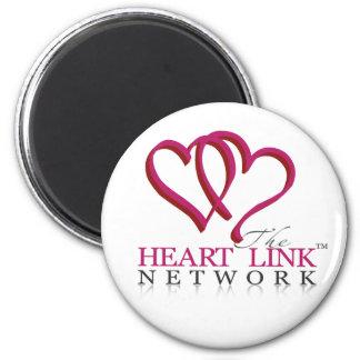 The Heart Link Network Logo Fridge Magnet