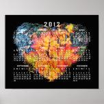 The Heart of Autumn; 2012 Calendar Poster