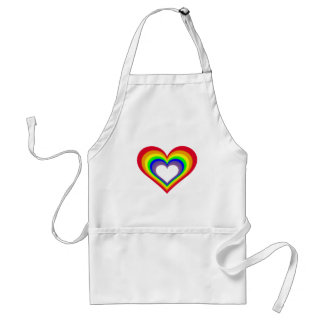 The Heart of Colors Adult Apron