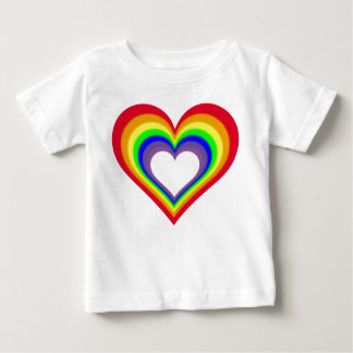 The Heart of Colors Baby T-Shirt