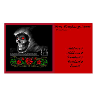 The Heart of Darkness Business Card