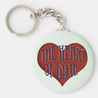 The Heart Of Dixie Alabama Key Chain