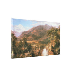 The Heart of the Andes, 1859 Canvas Print