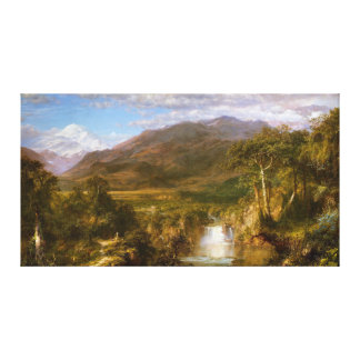 The Heart of the Andes by Frederic Edwin Church Canvas Print