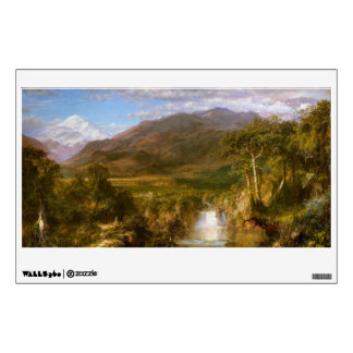 The Heart of the Andes by Frederic Edwin Church Wall Decal