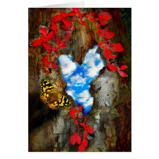 The Heart of the Forest Greeting Cards